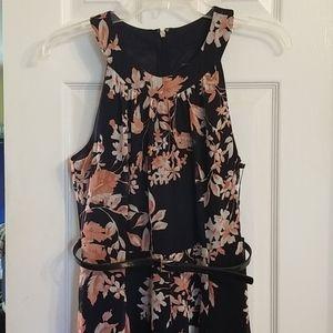 Tommy Hilfiger Floral Chiffon Maxi Dress,NWT, Sz 4